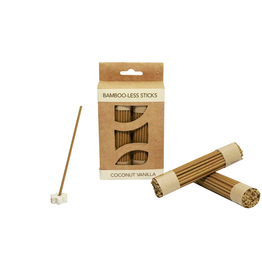 Coconut Vanilla Bamboo-less incense sticks