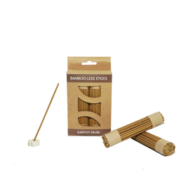 Earthy Musk Bamboo-Less incense sticks