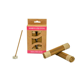 Himalayan Rose Bamboo-Less incense sticks