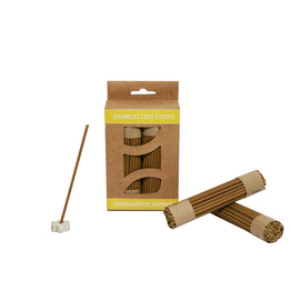 Sandalwood Saffron Bamboo-less incense sticks